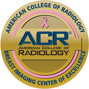 ACR Seal - Breast Imaging Center of Excellence