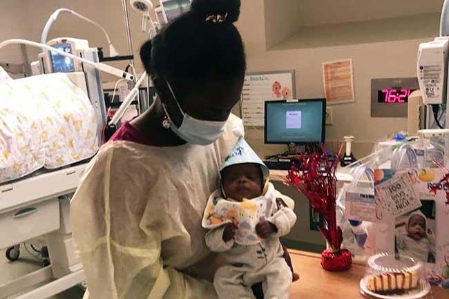 Bebé prematuro Rodlay Pierre