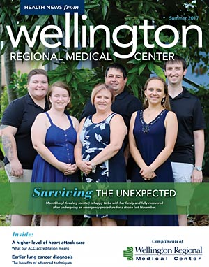 WRMC Health News Magazine Summer 2017 Cover