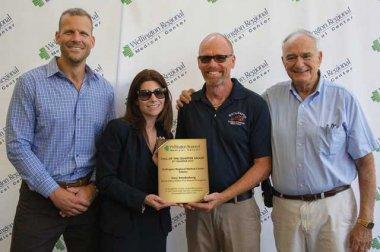 Dr. Brandt Delhamer, CEO Pam Tahan, Gary Swedenborg, and Raymond Mitchell Jr.
