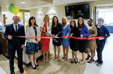 A ribbon-cutting ceremony marked the opening of our new facility.