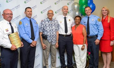Wellington Regional Medical Center Reunites Patient with Emergency Services Crew and Hospital Team That Saved His Life