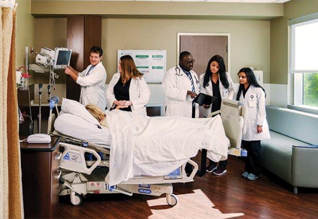 Training healthcare professionals of the future