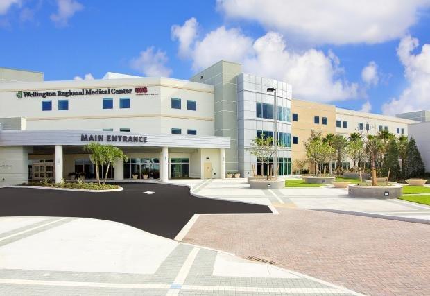 Front of Wellington Regional Medical Center